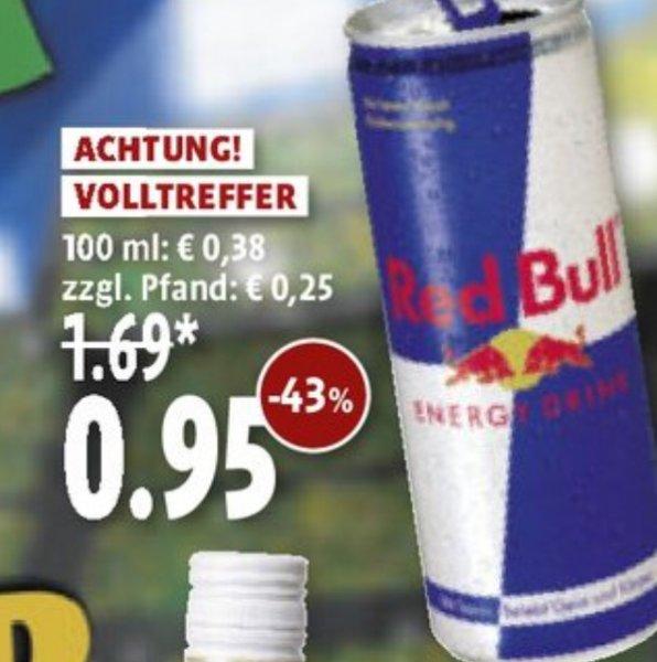 Red Bull für 0,95€ bei Kaisers