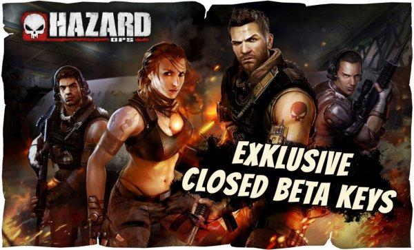 Hazard Ops: Und noch mal 1000 Keys für die Beta für euch!