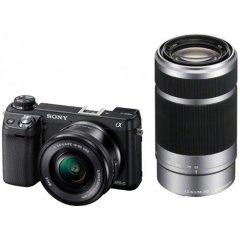 Sony Alpha NEX-6 Kit 16-50 mm + 55-210 mm (NEX-6Y) für 616,55 € @Sony Outlet