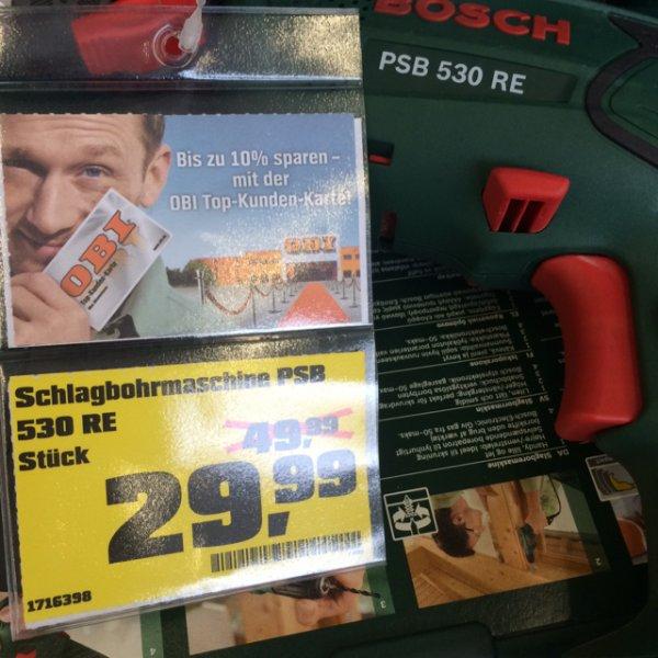 Lokal Hildesheim - Bosch psb 530 re für 29,99€