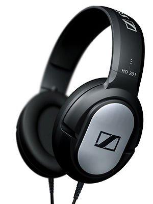 SENNHEISER DJ Hörer Kopfhörer HD 201 geschlossen HiFi Bass HD201 für 14,99 Euro @ Ebay.de
