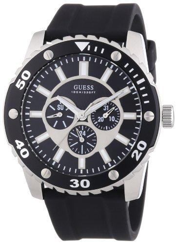 Guess Herren-Armbanduhr XL WEB Analog Quarz Kautschuk W10616G1 für 44,69€ inkl. Versand @Amazon.es
