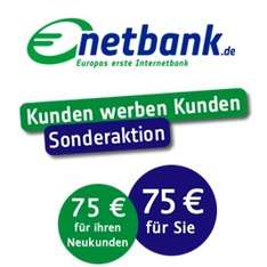 [netbank] 75€ Prämie + 75€ für Werber für kostenloses Konto