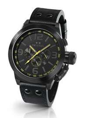 TW Steel Herren-Armbanduhr XL Canteen Style Chronograph Leder TW-900 EUR 215,97