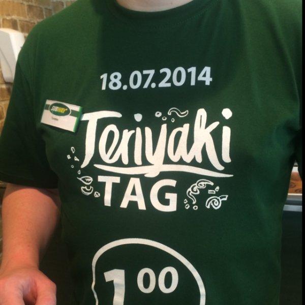 Vahrenwalder Str., Hannover / 15cm Sub Chicken Teriyaki 1€