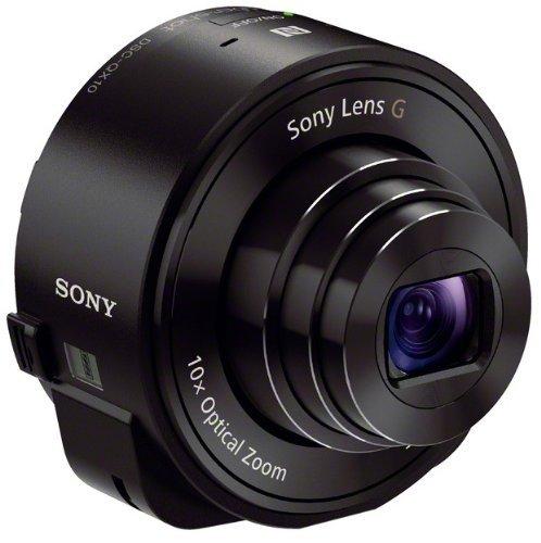 Sony SmartShot DSC-QX10 schwarz (Kameravorsatz für Smartphones)  @amazon Blitzangebot 99€