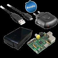 Raspberry Pi Model B (512MB) + Gehäuse + Netzteil für 39,99€ inkl. VSK @ZackZack