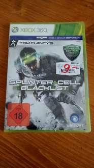 Splinter Cell Blacklist (Xbox 360) für 9€ @ Media Markt Wuppertal
