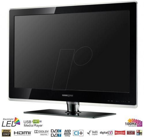 """32"""" LED-TV mit 100Hz und DVB-C/-T"""