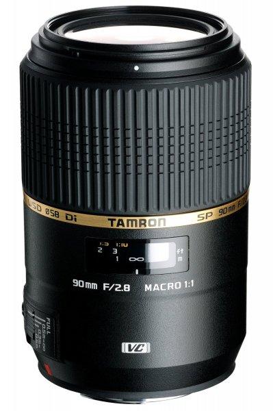 Tamron Objektiv SP AF 90 mm F/2,8 Macro 1:1 VC USD [heute für NIKON] 366,30€ @Amazon.fr (Vergleichspreis: 429€)