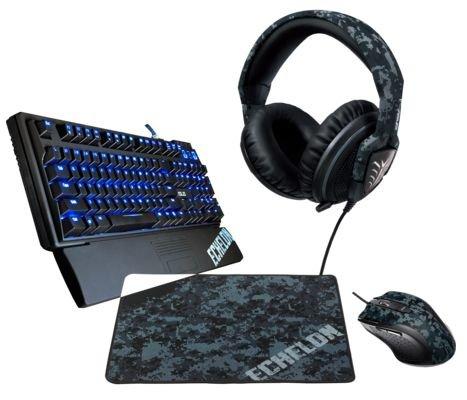 ASUS Echelon ESL Bundle 3: Headset, Keyboard, Maus, Mauspad für 133€ (Vergleichspreis ~206€)