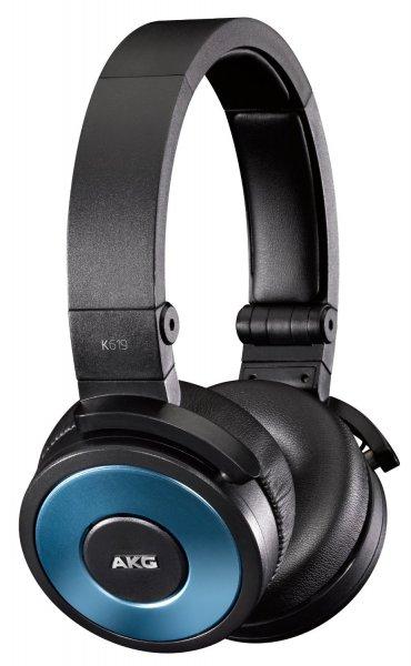 AKG K 619 Blau/Schwarz DJ-Kopfhörer mit Mikrofon für 55,75€ @Amazon.fr