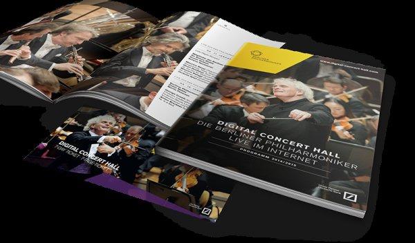 Kostenlose Programmbroschüre und ein kostenloses 7-Tage-Ticket für die Saison 2014/2015 in der Digital Concert Hall der Berliner Philharmoniker