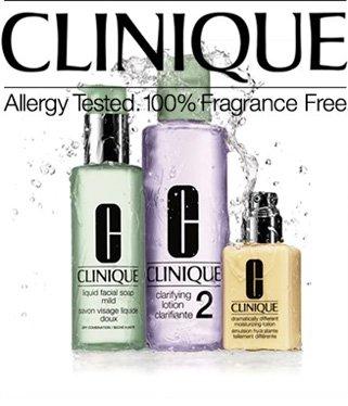 Clinique: 3-Phasen-Systempflege Probier-Set + gratis 3 tlg. Bonus-Set + 3 Proben für 9,- versandkostenfrei