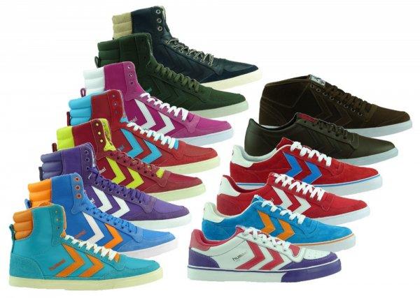 Hummel Leder Sneaker Damen&Herren 32,46,- inkl. Versand @Ebay