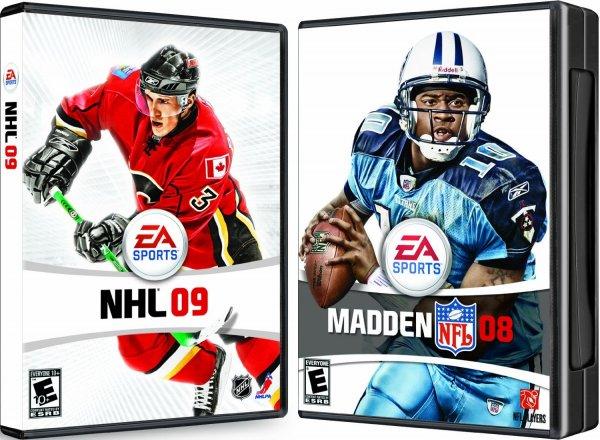 [origin] Madden NFL 08 + NHL 09 Bundle