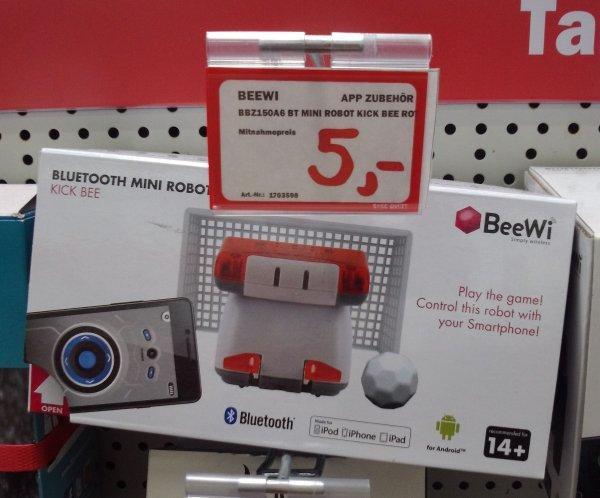 lokal @MM Egelsbach: BeeWi iOS Bluetooth Mini Robot Kick für 5 € BBZ150A6 BT