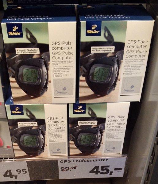 Local @Egelsbach Tchibo: GPS-Pulscomputer für 45 €