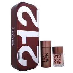 Carolina Herrera 212 Sexy Men Geschenkset (100ml EdT + 100ml Aftershave) für 49,85 Euro