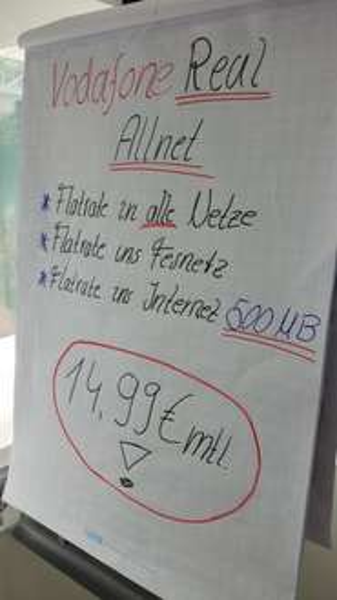 HOT Vodafone Allnet Flat 500 MB Internet 14,99