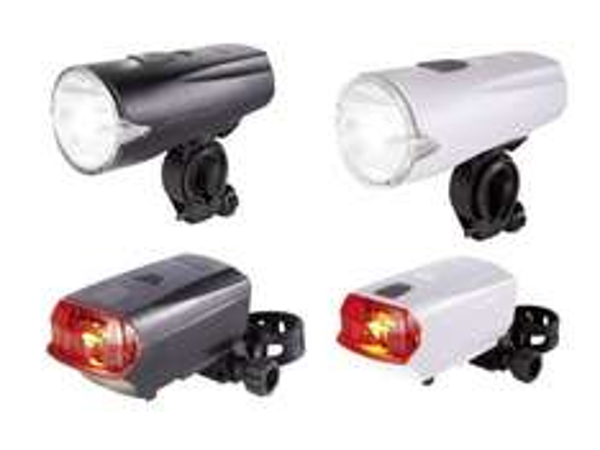 LED-Fahrradleuchtenset bei Lidl ab 10.7. für 5,99€