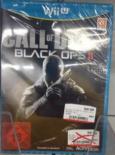 [Lokal MM Lichtenfels] Call of Duty - Black Ops II --- Wii U ---  10,-