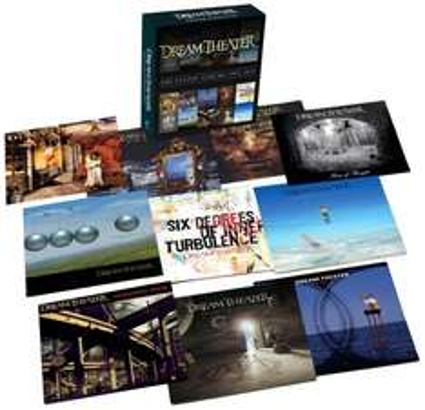 Dream Theater Studio Albums 1992-2011 10 Alben für 29,99€ @Saturn