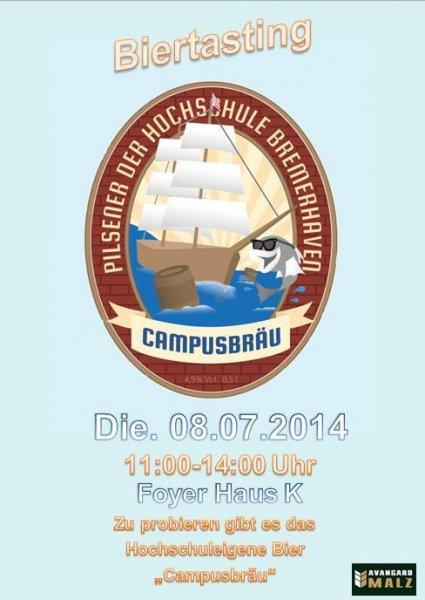 [Bremerhaven] Kostenloses Bier and der Hochschule Bremerhaven