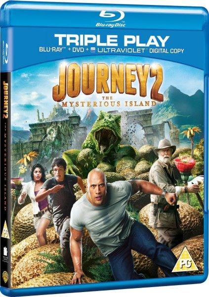 Blu-ray - Die Reise zur geheimnisvollen Insel (2 Discs) [15% Rabatt auf alle Blu-rays] für €3,55 [@Wowhd.se]
