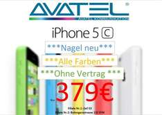 (lokal Frankfurt am Main) iPhone 5c,  379,00 EUR
