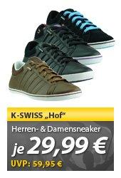 [MEINPAKET OHA!] K-SWISS Schuhe Hof Damen & Herren