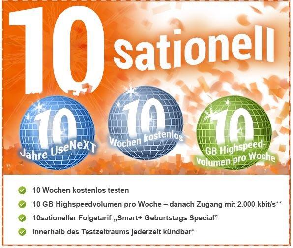 UseNeXT - 70 Tage gratis testen / einfach online Kündigung möglich