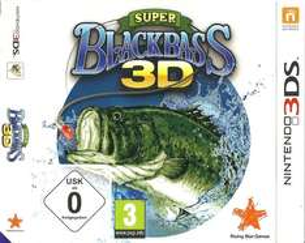 3DS-Spiel Super Black Bass 3D für 3,99 Euro