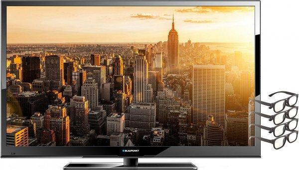 42 Zoll 3D Led TV von Blaupunkt inkl 4 Brillen bei Schwab