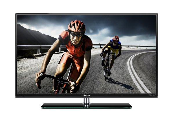 Hisense LTDN50K166WSEU 127 cm (50 Zoll) LED-Backlight-Fernseher, EEK A (Full HD, 200Hz, DVB-T/C/S2, SMART TV, HbbTV, DLNA, WLAN)  @amazon Blitzangebot 429,99€