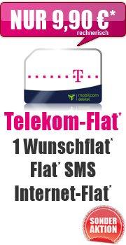 Telekom D1 500 MB Internet + SMS + Mobilfunk Flat