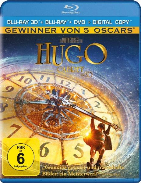 Hugo Cabret 3D für 17,97 inkl. VSK (Prime-Mitglieder 14,97) bei amazon.de