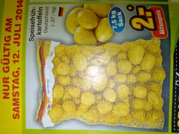 Netto Marken Discount : 7,5 Kg Kartoffeln 2€ nur am 12.7.2014