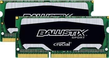 16GB Kit Crucial Ballistix DDR3L SO-DIMM für 77,49€ bei Amazon (Grundpreis 4,84€/GB)