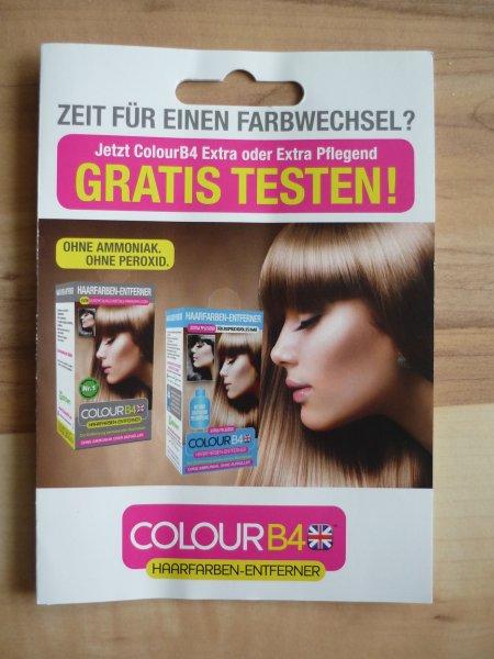 [Müller] ColourB4 Haarfarben-Entferner gratis testen