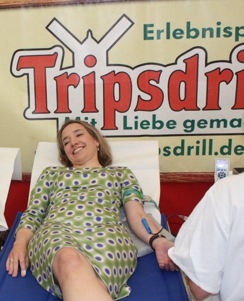 Reminder: Erlebnispark Tripsdrill: Eintrittskarte gegen Blutspende