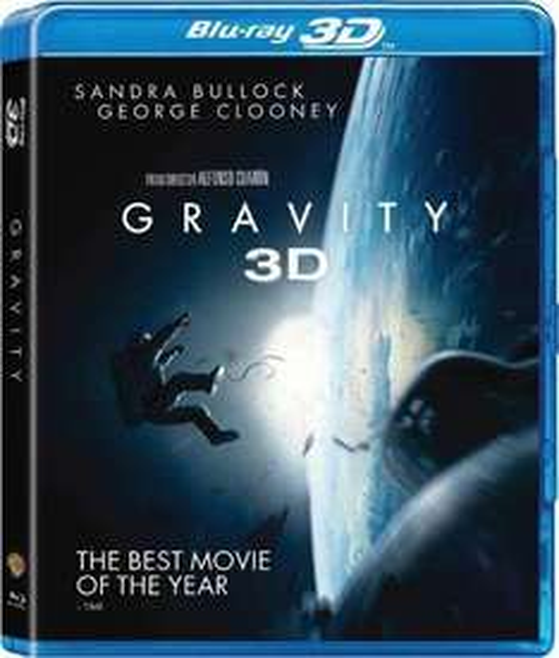 Gravity 3D [Blu-ray] für 13,33€ + VSK (2,99 €)