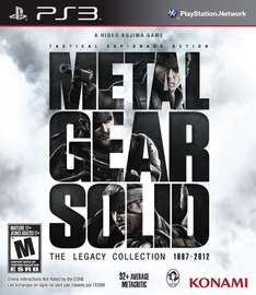 (Lokal MM Meppen) Metal Gear Solid Legacy Collection PS3