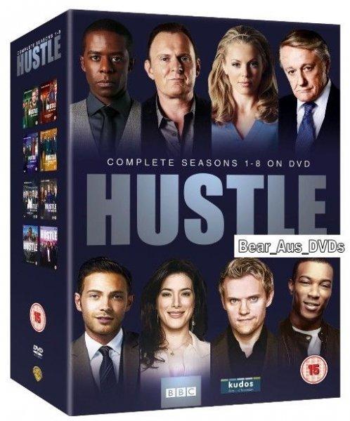 [Amazon UK] Hustle - Komplette Serie (DVD) auf ENG für 21,77€