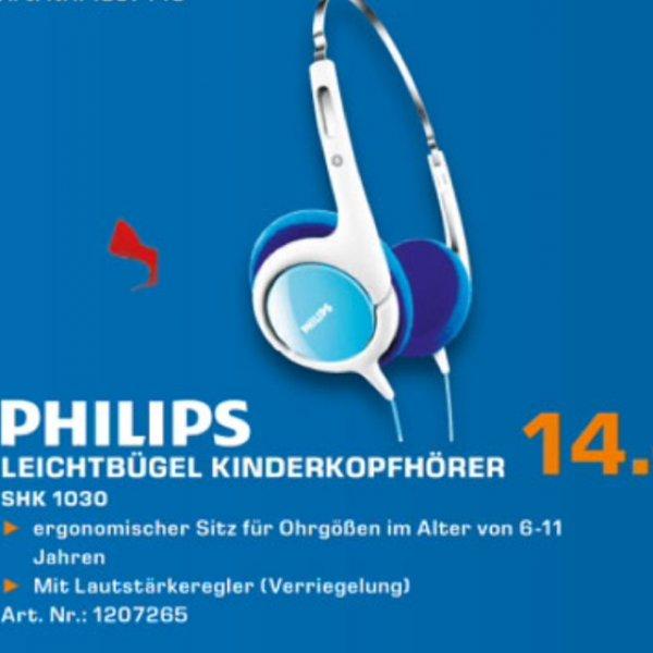 Philips kinderkopfhörer 14€