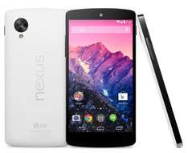 Google Nexus 5 Smartphone (4,9 Zoll) Full HD-IPS-Display, 2,26GHz ,16GB, 8 Megapixel, weiß @amazon Blitzdealz
