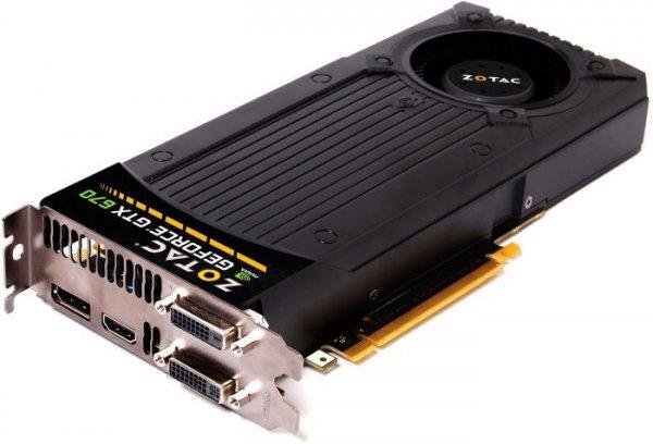 Zotac nVIDIA GeForce GTX 670 (2048 MB) für 149,99€