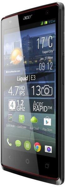Acer Liquid E3 Dual Sim Smartphone 160€ @Amazon Frankreich