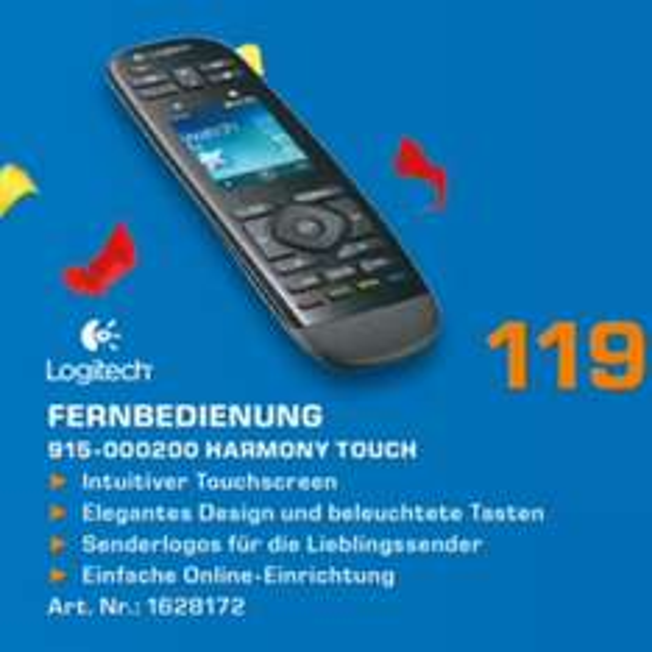 Logitech harmony Touch knallerpreis 119€