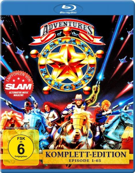 The Adventures of the Galaxy Rangers - Die komplette Serie [Blu-ray] für 12,97 € @ Amazon.de